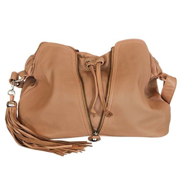 CADELLE LEATHER Becky Mini Bag Camel Brown
