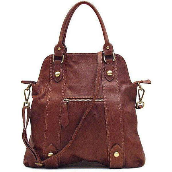 Floto Italian Leather Shoulder Bag Women's Bolotana bag brown