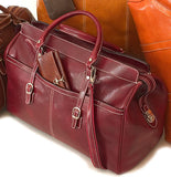 FLOTO Casiana Leather Travel Tote Vecchio Brown