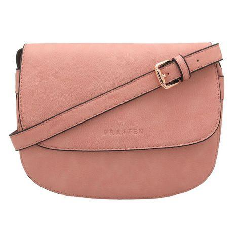 PRATTEN DALLAS CROSSBODY/SHOULDER BAG BLUSH PINK