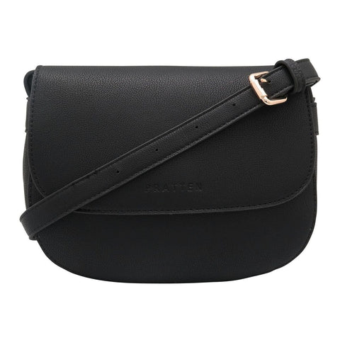 PRATTEN DALLAS CROSSBODY/SHOULDER BAG BLACK
