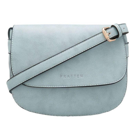 PRATTEN DALLAS CROSSBODY/SHOULDER BAG GREY BLUE