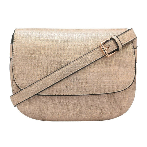 PRATTEN DALLAS CROSSBODY/SHOULDER BAG GOLD