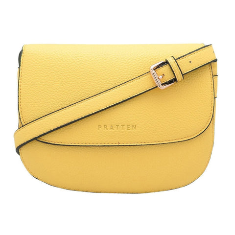 PRATTEN DALLAS CROSSBODY/SHOULDER BAG YELLOW