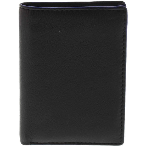 COBB & CO DEAN RFID 2 TONE LEATHER CARD WALLET