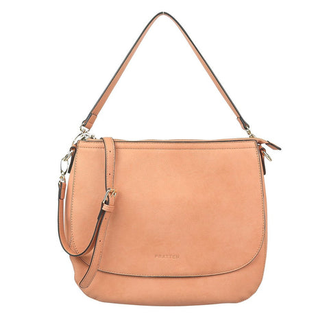 PRATTEN Diana Shoulder Bag Nude