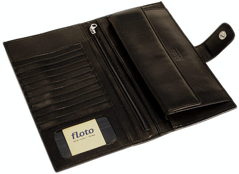 FLOTO Firenze Leather Document Folder Black