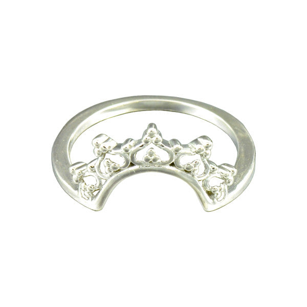 ICHU Crown Sterling Silver Ring