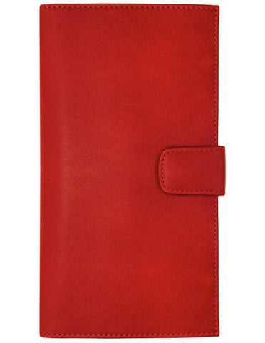 FLOTO FIRENZE LEATHER DOCUMENT FOLDER RED
