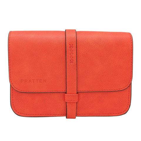 PRATTEN Festival Clutch / Sling Bag Orange
