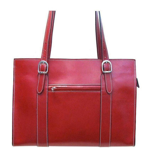 Floto Italian Leather Roma Women's Shoulder Bag Briefcase