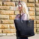 PRATTEN GIRL FRIDAY TOTE BLACK