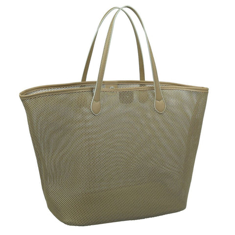 PRATTEN GIRL FRIDAY TOTE CHAMPAGNE BEIGE
