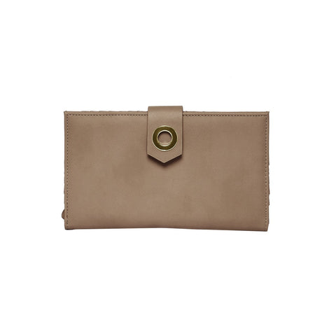 URBAN ORIGINALS Hollywood Vegan Leather Wallet Taupe