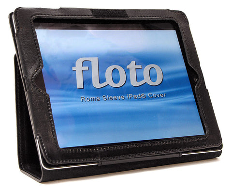 FLOTO Roma Sleeve iPad 2 Cover Black
