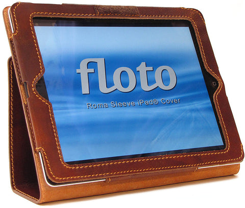 FLOTO Roma Sleeve iPad 2 Cover Vecchio Brown