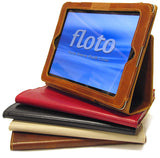 FLOTO Roma Sleeve iPad 2 Cover Olive Brown