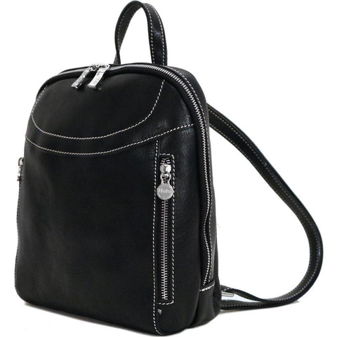 FLOTO LAMPARA LEATHER BACKPACK BLACK