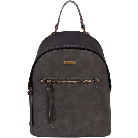 GABEE LYDIA TWO TONE BACKPACK BLACK