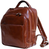 FLOTO Venezia Leather Backpack Vecchio Brown