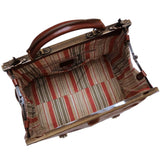 Leather Gladstone Carry On Bag Floto Positano inside