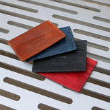 Roma Leather Credit Card Wallet all colors