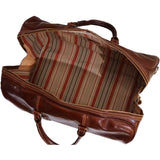 Leather Duffle Bag Floto Venezia Grande inside