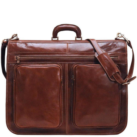 Floto Italian leather garment bag suitcase luggage 2