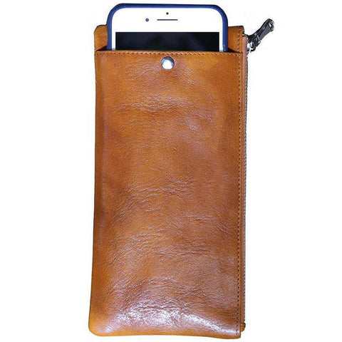 Floto Italian Roma Leather Iphone Wallet Case