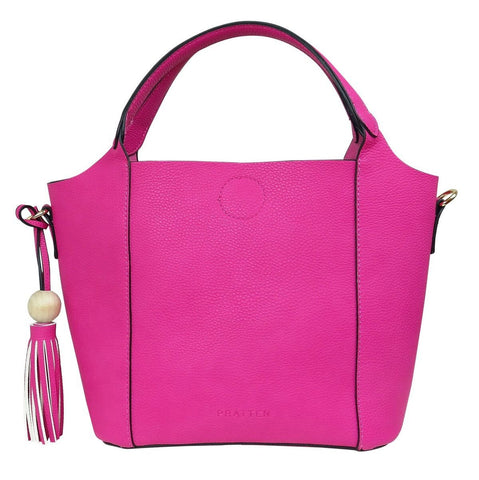 PRATTEN Mini Barbados Satchel Bag Pink