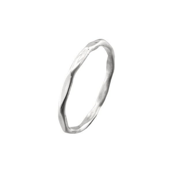 ICHU Edge Sterling Silver Ring