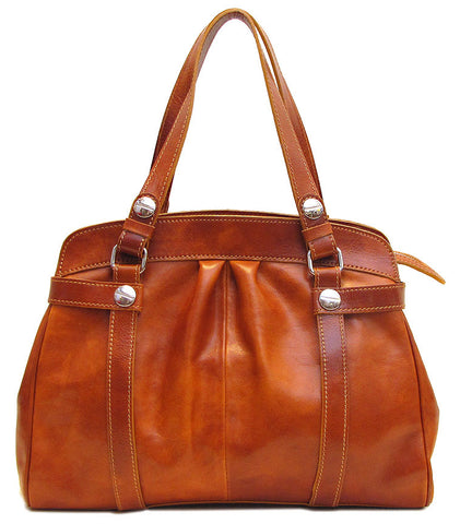 FLOTO Milano Bag Olive Honey Brown