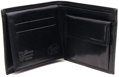 FLOTO Milano Leather Wallet Black