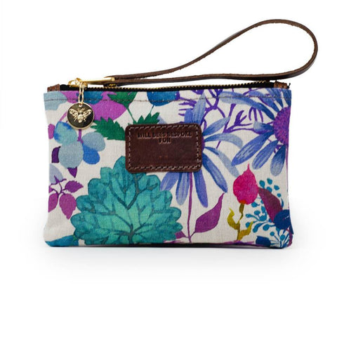 wILL bEES pERSONALISED Ada Mini Clutch Liberty Fresco Lagoon