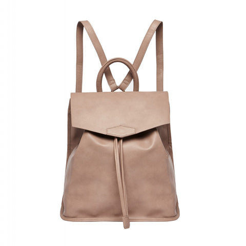 URBAN ORIGINALS Night Fever Vegan Leather Backpack Bag Nude
