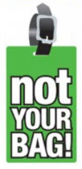 Not Your Bag Luggage Tags (Set of 2)