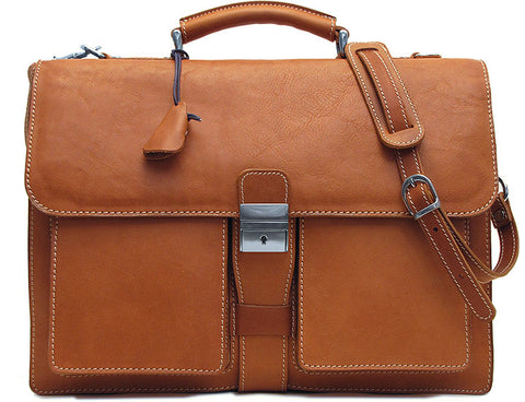 FLOTO Parma Leather Briefcase LIMITED EDITION