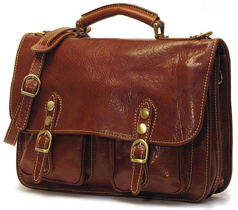 FLOTO Poste Messenger Bag Vecchio Brown