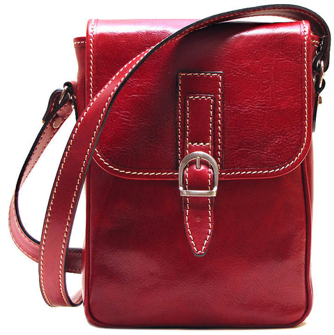 FLOTO Poste Crossbody Bag Red