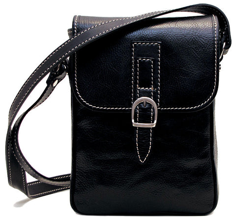 FLOTO Poste Crossbody Bag Black