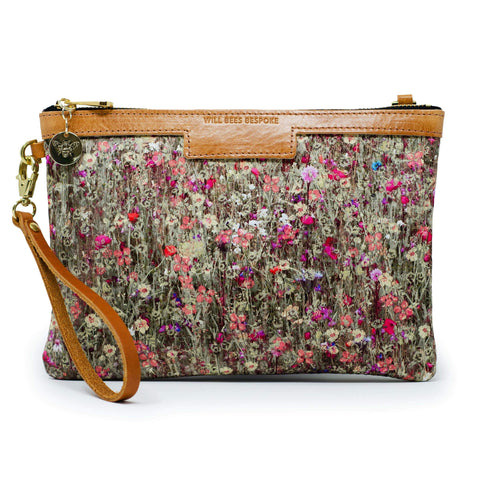 Will Bees Personalised Premium Diana Clutch Liberty Mawston Meadow