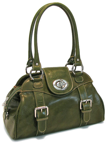 FLOTO Procida Handbag Apple Green