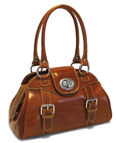 FLOTO Procida Handbag Brown