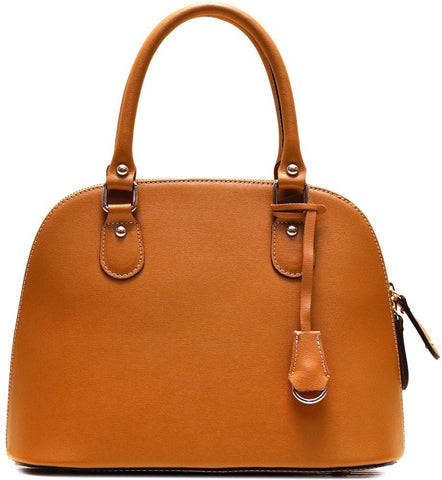 FLOTO RAGAZZA MINI SATCHEL BAG TUSCAN TAN