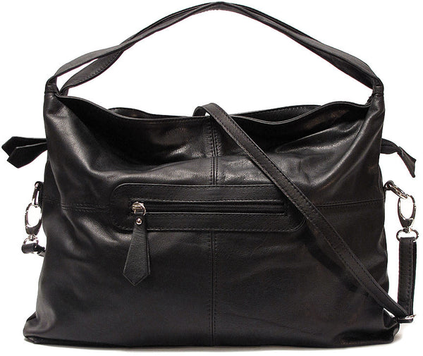FLOTO Rimini Leather Bag Black