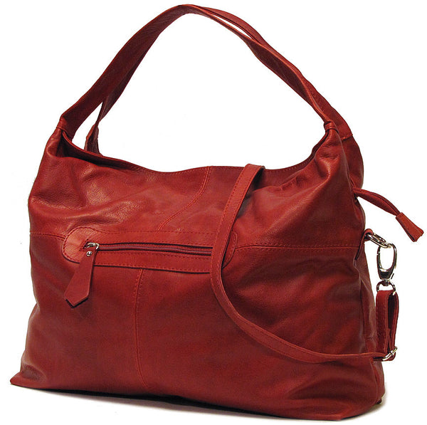 FLOTO Rimini Leather Bag Red