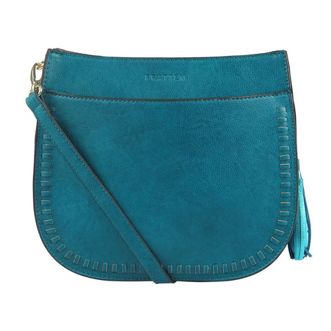 PRATTEN Sienna Shoulder Bag Emerald Green