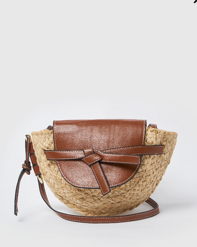 Izoa Anetta Crossbody Bag Brown