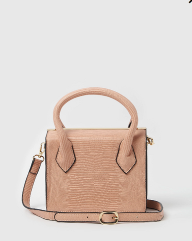 Izoa Willow Handbag Pink