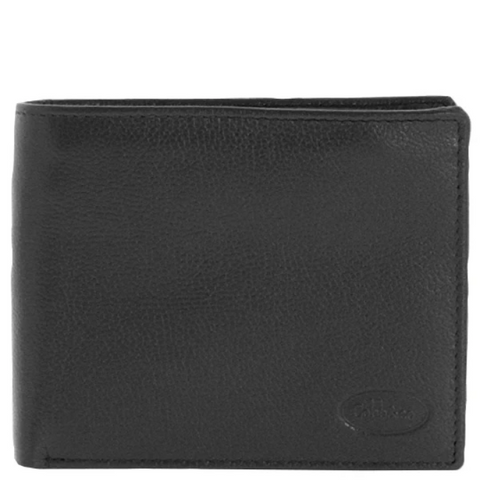 COBB & CO Hamish RFID Bifold Flap Over Leather Wallet